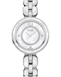 Fendi Women's My Way Diamond Watch - Metallic