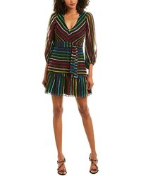 Amanda Uprichard Selene Mini Dress - Black