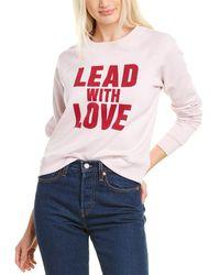 Rebecca Minkoff Lead With Love Sweatshirt - Red
