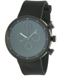 Movado - Men's Rubber Watch - Lyst