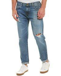 J Brand Eli Quibus Tapered Leg - Blue