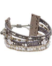 Chan Luu - Silver Labradorite Bracelet - Lyst