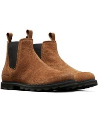 Sorel Madson Chelsea Wp Boot - Brown