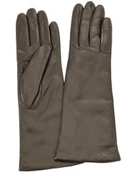 Portolano Leather Black Gloves