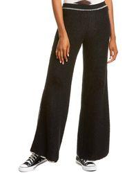 Missoni Fuzzy Wool, Mohair, & Alpaca-blend Pant - Black