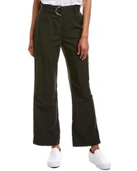 James Perse Belted Field Pant - Black