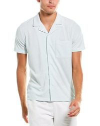 Onia Camp Over Terry Shirt - Multicolor