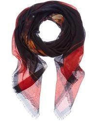 Givenchy - Rottweiler Cashmere & Silk-blend Scarf - Lyst