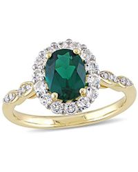 Rina Limor 14k 1.68 Ct. Tw. Diamond & Gemstone Ring - Metallic