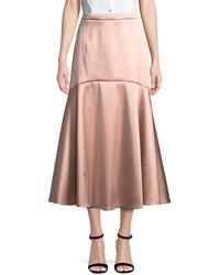 Temperley London Onyx Evening Skirt - Pink