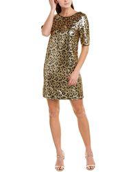 Betsey Johnson Shift Dress - Metallic