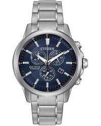 Citizen Men's Titanium Watch - Metallic