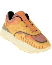 Tod's Tod?s Derby Leather Trainer - Multicolour