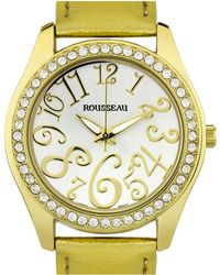 Rousseau Women's Calame Watch - Metallic