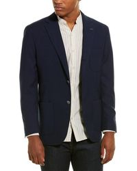 Michael Bastian Michael Bastion Slim-fit Wool Sportcoat - Blue