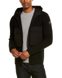 Canada Goose Elgin Full-zip Wool Sweater - Black