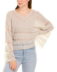 Autumn Cashmere - Cashmere & Silk-blend Sweater - Lyst