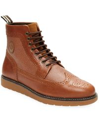 Fred Perry - Northgate Leather Boots - Lyst