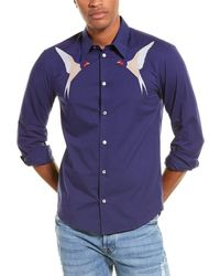 Stella McCartney Embroidered Shirt - Blue