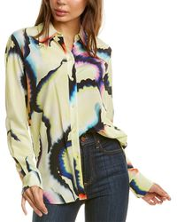 A.L.C. Jayne Silk-blend Top - Multicolor