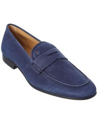 Tod's Tod?s Suede Loafer - Blue