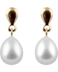 Splendid 14k 8-8.5mm Freshwater Pearl Drop Earrings - White