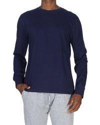 Unsimply Stitched Super Soft Crew T-shirt - Blue