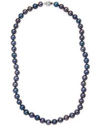 Masako Pearls - 14k White Gold Pearl Necklace - Lyst