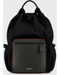 Giorgio Armani Sacs porté épaule - Noir