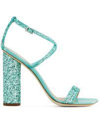 Giuseppe Zanotti - Vampiro Sandals With Glitter Sandals - Lyst