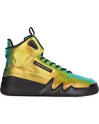 Giuseppe Zanotti 'Talon' High-Top-Sneakers - Mettallic