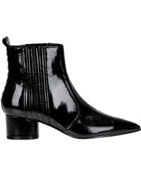 Kendall + Kylie - Laila Patent-leather Ankle-boots - Lyst