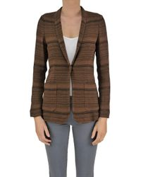 Seventy - Women's Brown Polyamide Blazer - Lyst