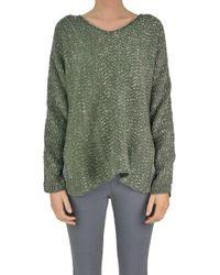Fabiana Filippi - Melange Cotton Pullover - Lyst