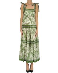 Zimmermann - Empire Long Dress - Lyst