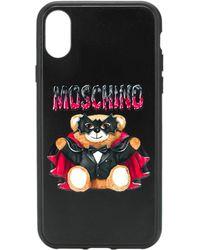 Moschino Cover Iphone Xs/X - Nero