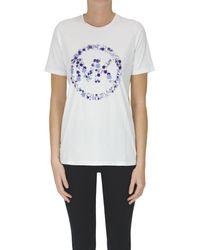 MICHAEL Michael Kors T-shirt con logo - Bianco