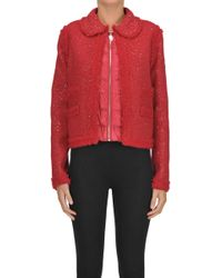 Moncler Gamme Rouge 'aberdeen' Jacket - Red