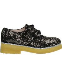 Alberto Gozzi - Sequined Lace-up Shoes - Lyst