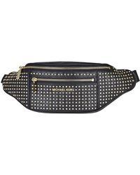 MICHAEL Michael Kors Mott Embellished Belt Bag - Black