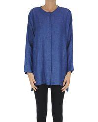 Max Mara Frank Linen Shirt - Blue