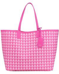 Schutz - Printed Shopping Bag - Lyst