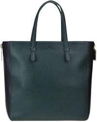 Elisabetta Franchi Eco-leather Shopping Bag - Green