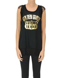 Golden Goose Deluxe Brand Eva Tank-top - Black