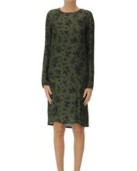 Hartford Viscose Tunic Dress - Green