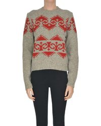 Mulberry - Intarsia Pullover - Lyst