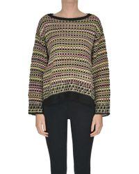 Kristina Ti - Textured Knit Pullover - Lyst
