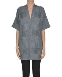 Anneclaire - Wool-blend Cardigan - Lyst