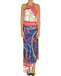 Pinko - Multicolor Polyamide Dress - Lyst