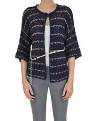 Anneclaire - Texured Knit Cardigan - Lyst